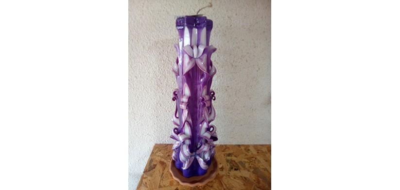 Ukrasna parafinska sveća – Mojić 18101